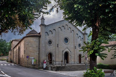 The parish church of San silvestro - Fanano