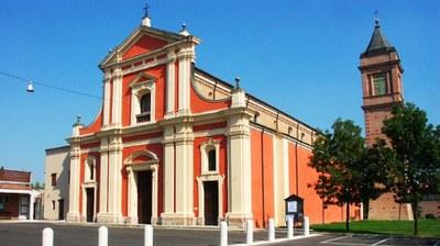 Nonantola - The parish church of San Michele Arcangelo