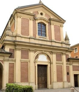 The church of San Giacomo in Castelfranco emilia