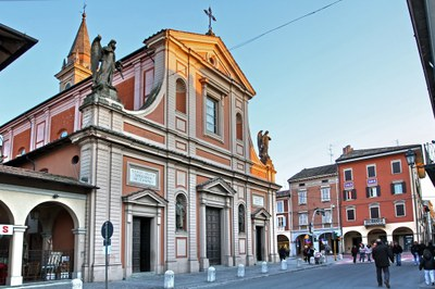 Santa Maria Church in Castelfranco Emilia