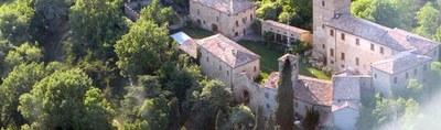 Montegibbio castle and Giuseppe Medici historic park