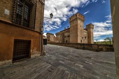 """The fortress of Vignola, """"La Rocca"""""""