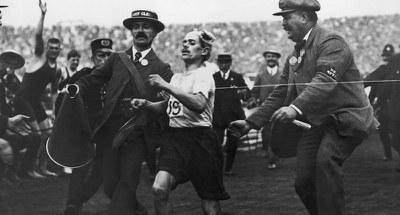 Dorando Pietri, marathoner (1885-1942)