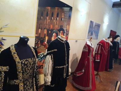 Exhibition of Renaissance dresses