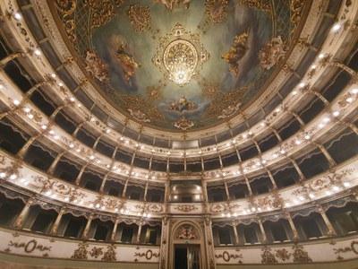 Municipal theatre of Carpi