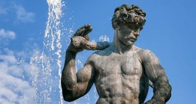 Giuseppe Graziosi' s fountains