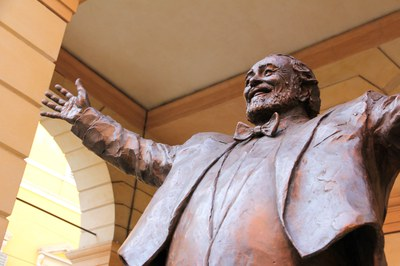 Luciano Pavarotti's Modena