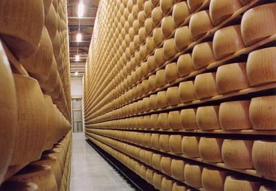Visit a Parmigiano Reggiano cheese dairy