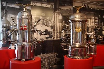 Museo delle macchine da caffe' a Modena (Museum of coffee machines)