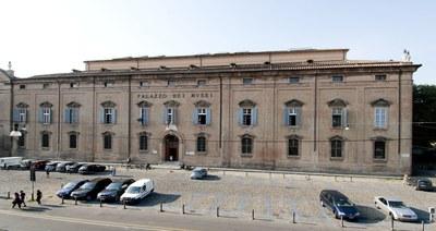 Sala oratorio Sant'Agostino presso palazzo dei musei