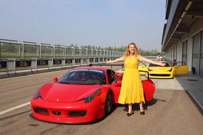Heart-Stopping Ferrari Driving Experience in Modena, Italy. By journalist on the run