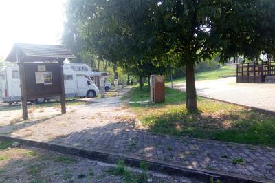 Maranello area sosta camper
