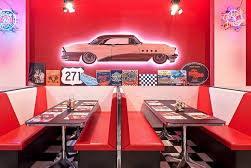 America Graffiti Diner Restaurant Modena