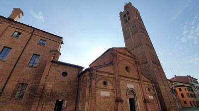 """Pieve di Santa Maria in castello detta """"la sagra"""" - Carpi"""