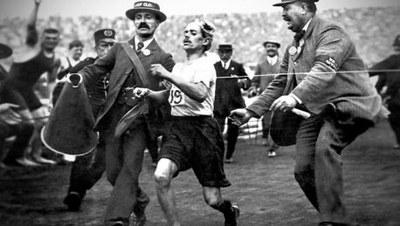 Dorando Pietri, maratoneta (1885-1942)