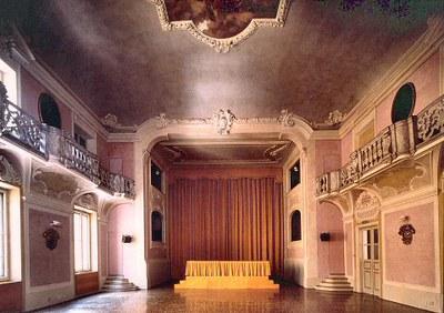 Il teatro del Collegio San Carlo di Modena