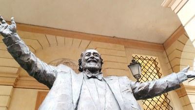 La Modena di Luciano Pavarotti