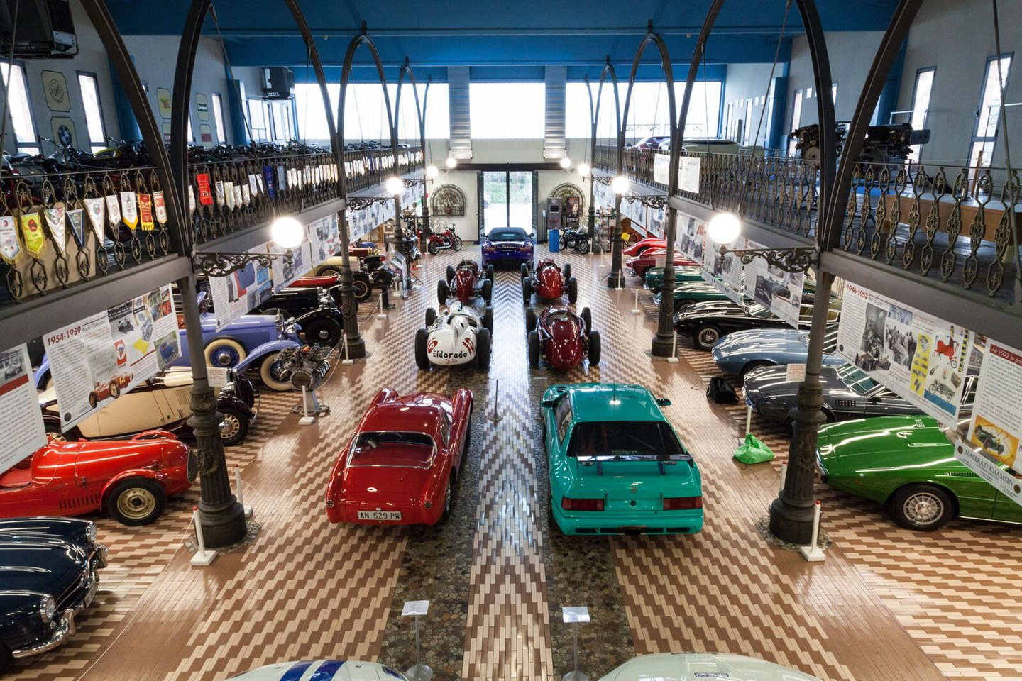 Umberto Panini historic cars and motorcycles collection