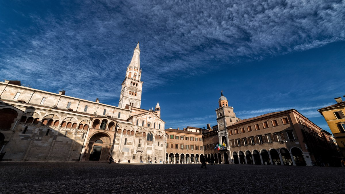 The Unesco World Heritage site of Modena